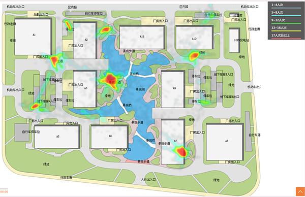 景区客流热点和预警功能 - 智慧景区建设解决方案