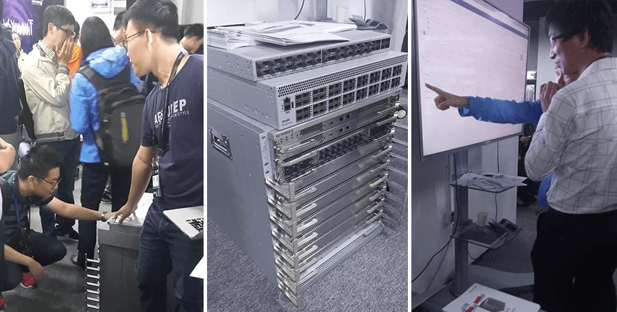 锐捷支持阿里巴巴数据中心网络架构