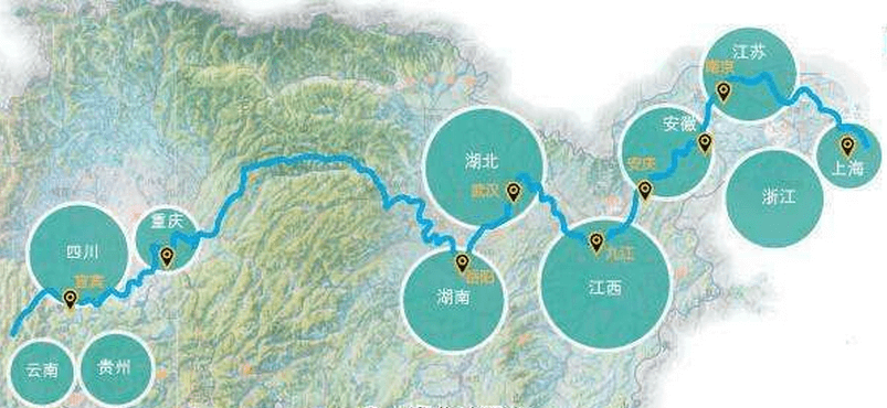 长江航道局管辖范围