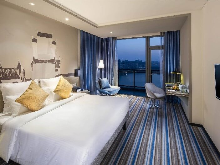 南昌万达城国际酒店客房