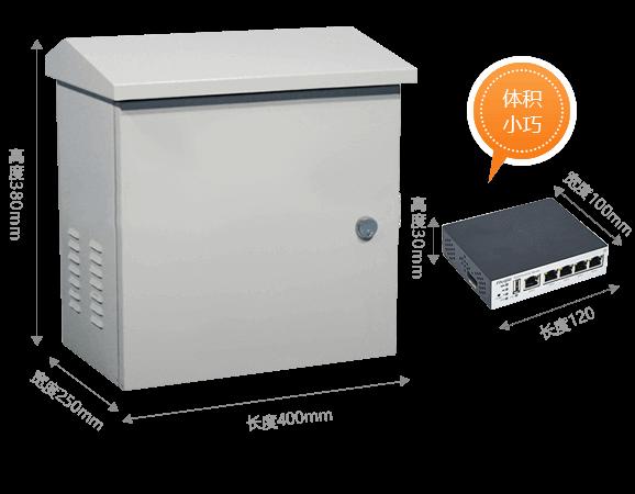 城市夜景工程等室外弱电箱尺寸较小,移动路由器可以方便地与其他设备集成其中