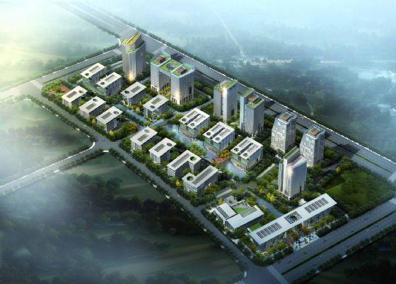 """福州市高新区其中的海西 """"创新园""""规划用地204."""