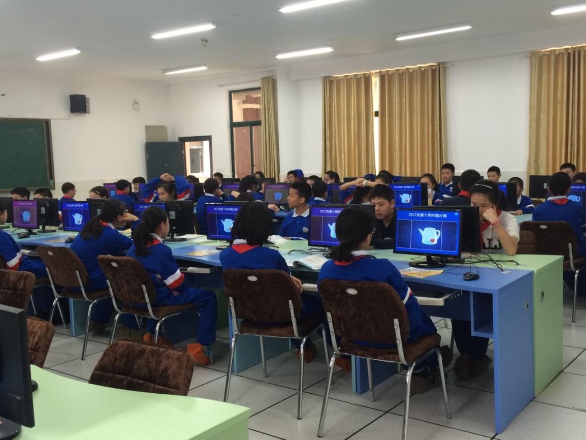 云课堂入驻 百年名校 给你一间 最纯净 的计算机教室