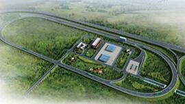 交通部公路试验场数据中心网络建设