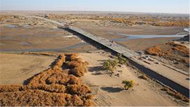 京新高速公路搭建千里戈壁信息之路