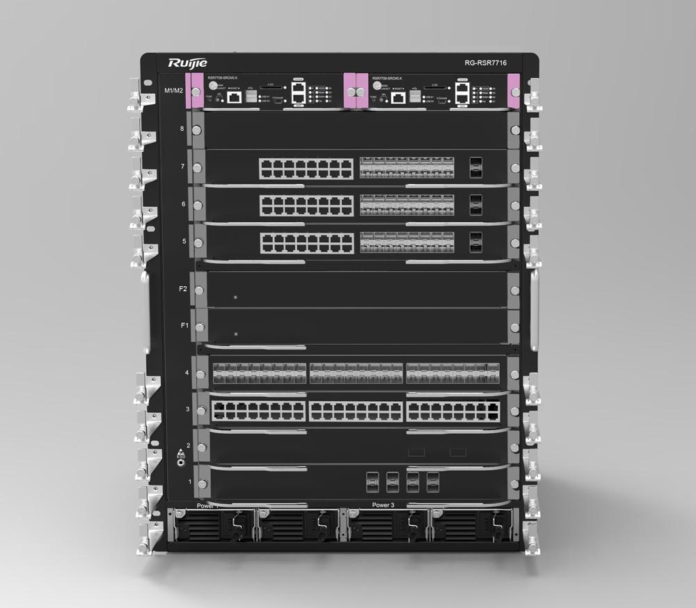 RG-RSR77系列万兆核心分布式路由器
