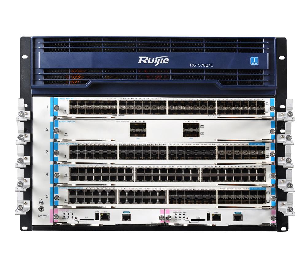 RG-S7800E系列云架构网络核心交换机