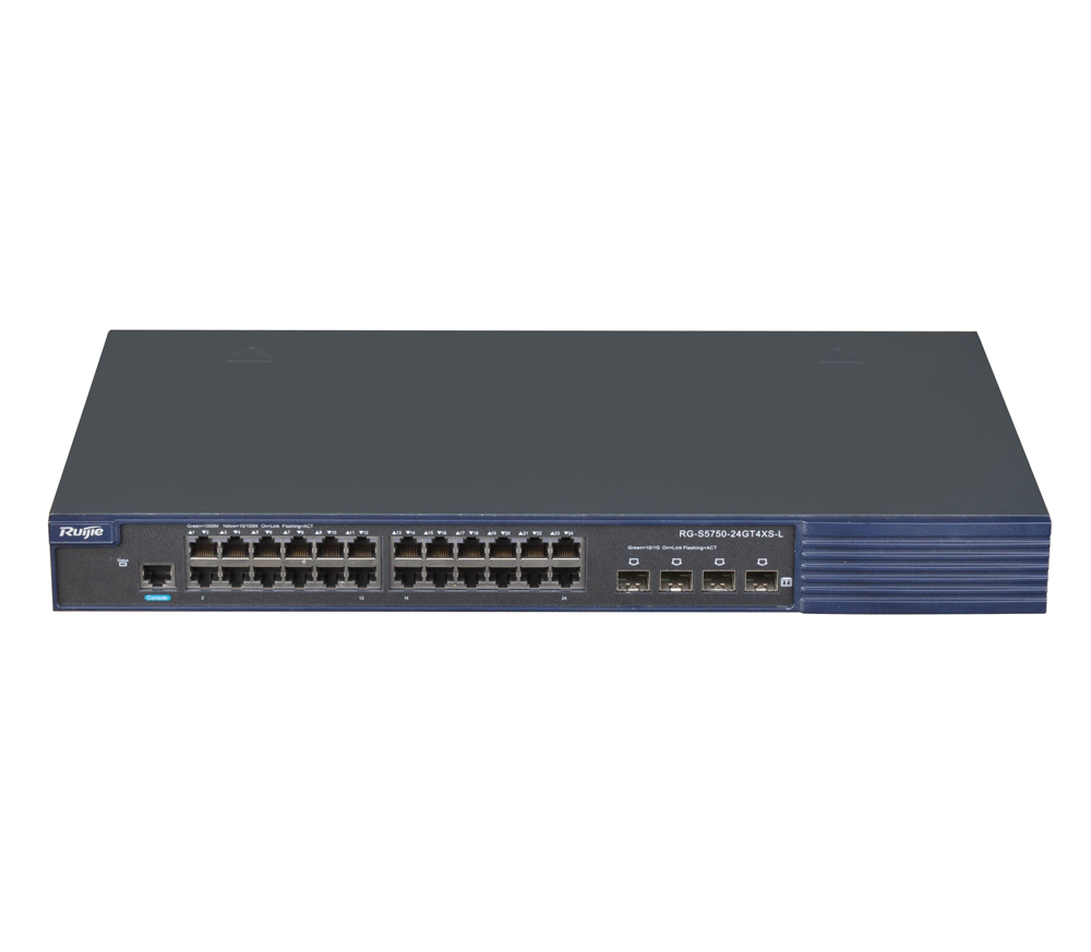 RG-S5750XS-L系列新一代千兆汇聚以太网交换机