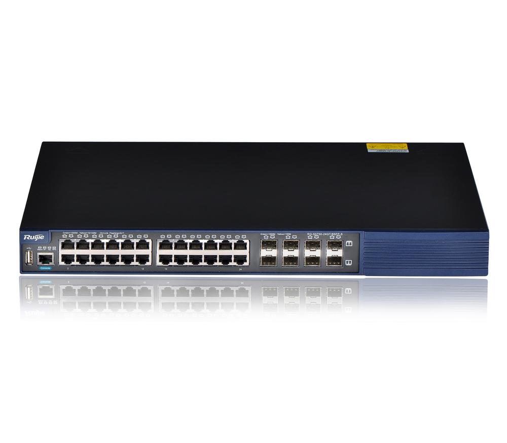 RG-S5750-S系列安全智能万兆武松娱乐